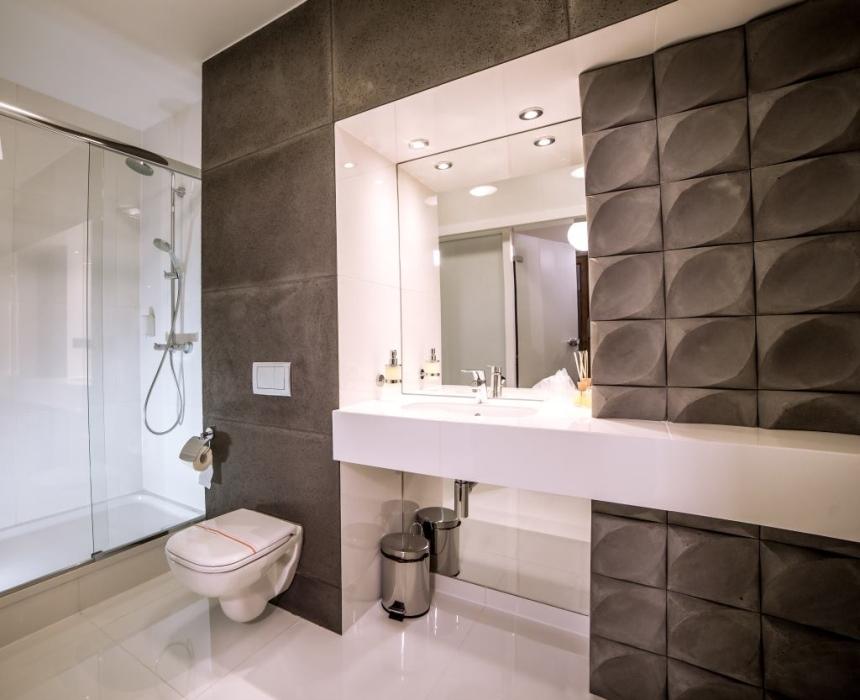 Pokój turkusowy - łazienka