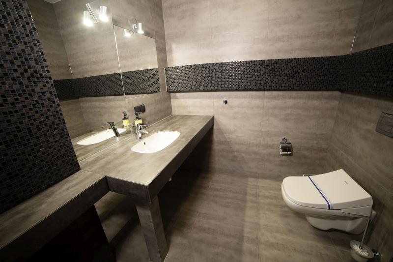 Apartament żółty-łazienka