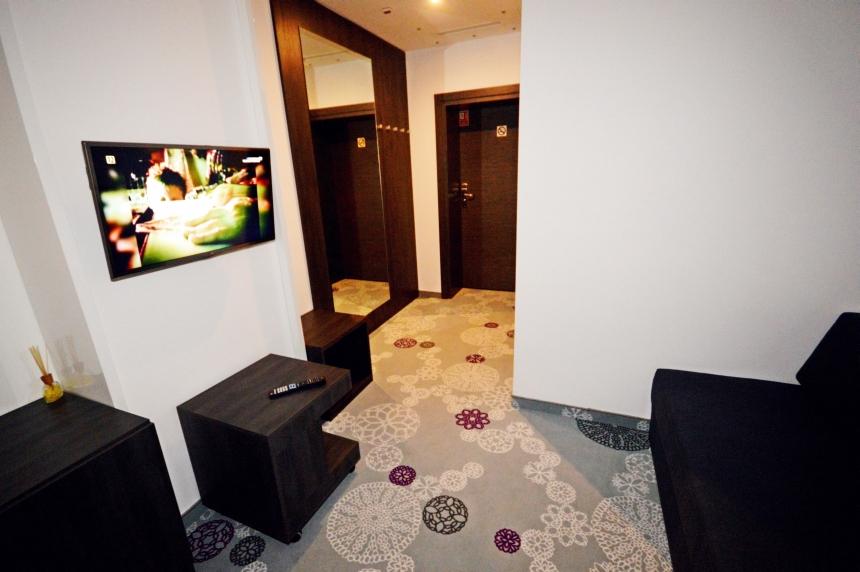 Pokój fioletowy - salon