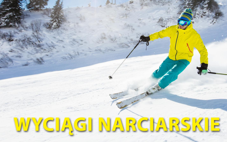 Wyciągi narciarskie w okolicy